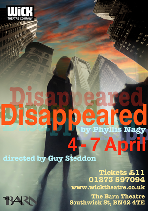 disappeared-playbill